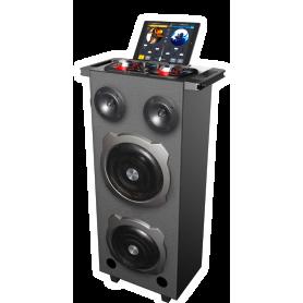 iDance MIXBOX 2000 DJ mobiele DJ speaker - mix 2 inputs - 500 Watt