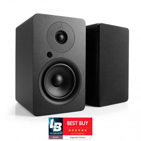 Argon Audio ALTO Active 5 - actieve speakerset met Bluetooth - Zwart
