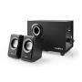 Nedis PC-Speaker   2.1 (Stereo met subwoofer)   33 W   3.5 mm Jack