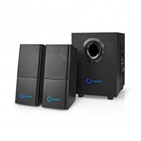 copy of Nedis PC-Speaker   2.1 (Stereo met subwoofer)   33 W   3.5 mm Jack