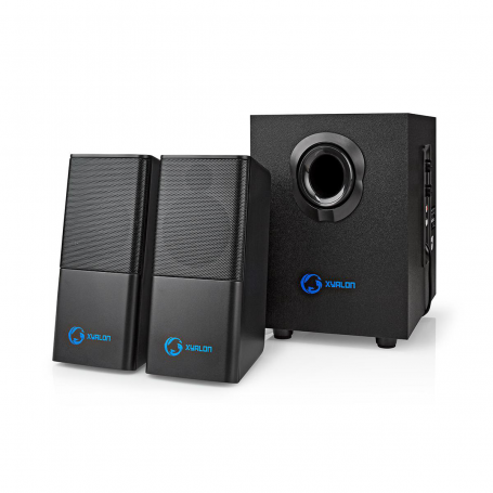 Nedis PC-Speaker | 2.1 (Stereo met subwoofer) | 11 W | 3.5 mm Jack | USB voeding