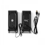 PC-Speaker | 2.0 (Stereo) | 6 W | 3.5 mm Jack | USB voeding
