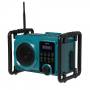 Denver WRB50 bouwradio - FM, Bluetooth en ingebouwde accu met verlichting