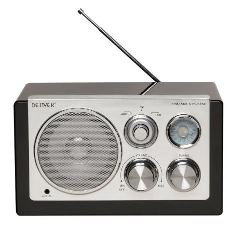 Denver TR-61 zwart - Retro radio