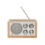 Denver TR-61 lichtbruin - Retro radio