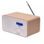 Denver DAB-30 wit hout - DAB+ radio