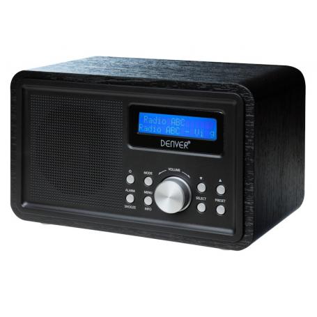 Denver DAB-35 zwart - DAB+ radio
