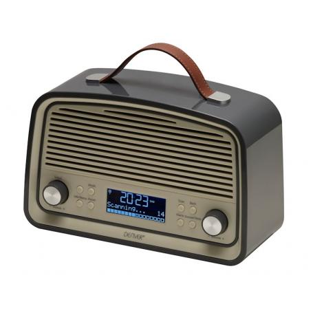 Denver DAB-38 grijs - DAB+/FM radio