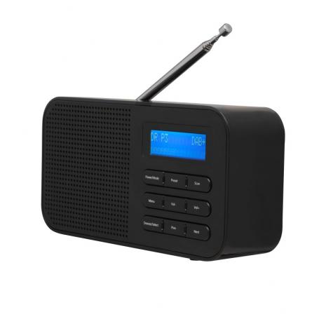 Denver DAB-42 zwart - DAB+/FM radio