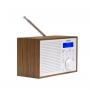 Denver DAB-46 wit - Retro FM radio