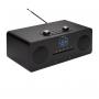Denver MIR-260 zwart - microsysteem met radio
