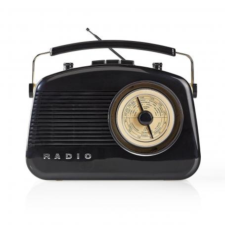 FM-radio   5,4 W   Bluetooth®   Draaggreep   Zwart
