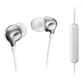 Philips SHE3705WT/00 - In-ear oortelefoons met microfoon