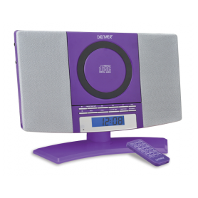 DENVER MC-5220 paars - CD...