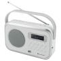 Soundmaster DAB270WE draagbare radio