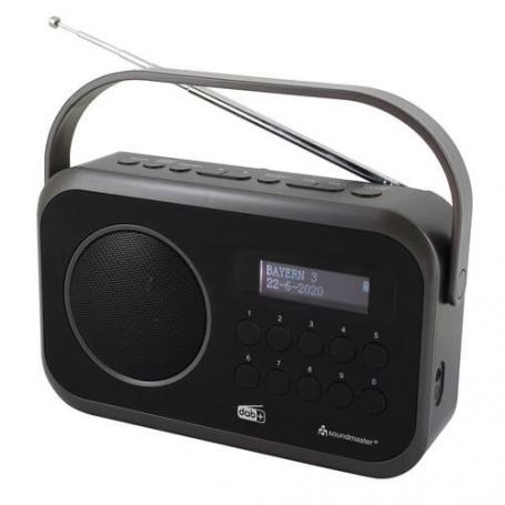 Soundmaster DAB270SW draagbare radio