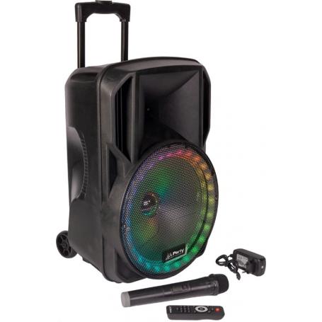 Party Sound PARTY-15RGB Draagbare luidspreker met Bluetooth, Radio en Licht effect / 800 Watt