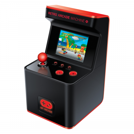 My Arcade Portable Retro Machine X 16-Bit Mini Arcade Cabinet (Inclusief 300 Spellen)
