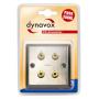 Audio Dynavox LS wandplaat metaal  - 4 voudig