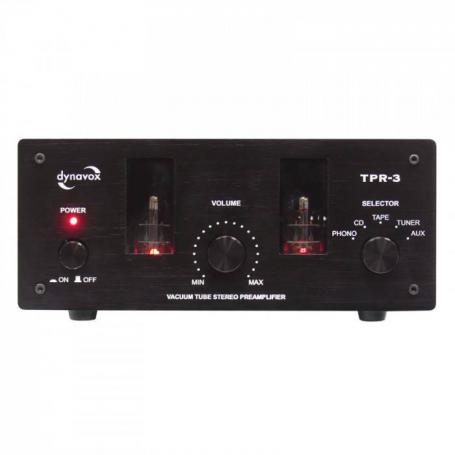 Audio Dynavox buizenvoorversterker TPR3 zwart