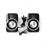 Nedis Gaming-luidsprekers - 2.0 - RGB - Over USB gevoed - 3,5 mm jack - RMS 10W