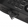 Denver CRP-717 zwart - wekkerradio met projector