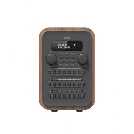 Denver DAB-48 grijs - DAB+ radio met Bluetooth