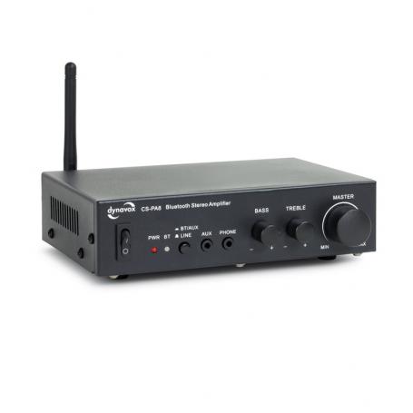 Dynavox CS-PA8 digitale audio versterker - Zwart