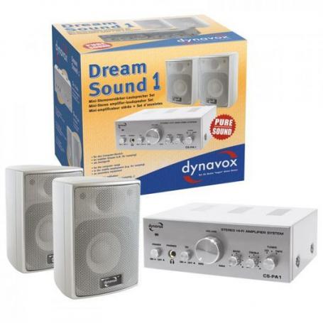 Audio Dynavox Dream Sound 1 zilver