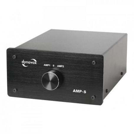 Audio Dynavox dynavox versterker / speaker switcher AMP-S zwart