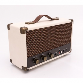GPO Westwood Retro Bluetooth Speaker Creme