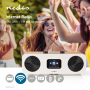 internetradio Nedis Tafelmodel | Hout/Wit | 2500WT