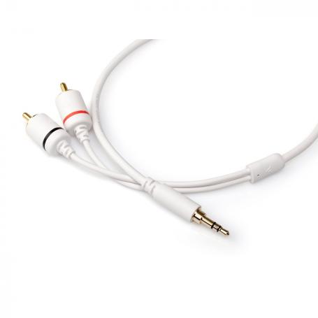 Argon Audio 3,5 mmm jack naar RCA kabel | classic