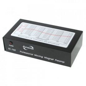 Audio Dynavox  Dynavox Phono voorversterker TC750 zwart
