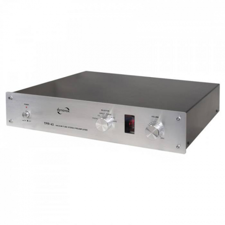 Audio Dynavox Dynavox TPR43 zilver + phono MM / MMC
