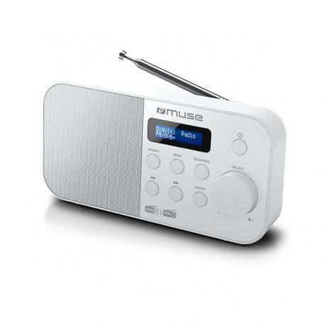 Muse M-109DBW DAB+ en AM/FM draagbare radio
