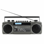 Soundmaster SRR70TI - Retro DAB en FM stereo radio cassettespeler