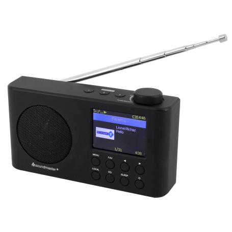 Soundmaster IR6500SW portable internet-, DAB+ en FM-radio