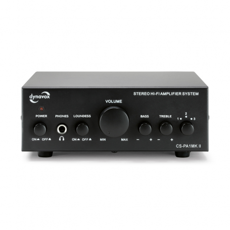 Audio Dynavox - Dynavox mini versterker CS-PA1 MKII zwart