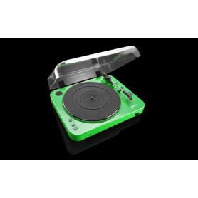 LENCO L-85 groen - Platenspeler met USB