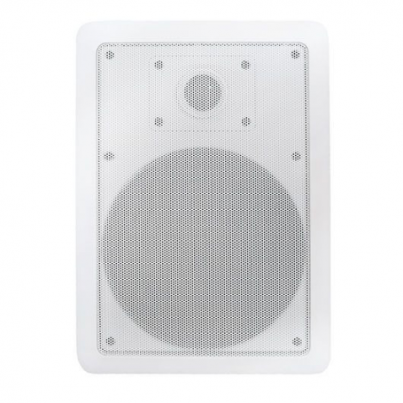 Audio Dynavox 2-Weg Inbouw luidspreker-panel wit