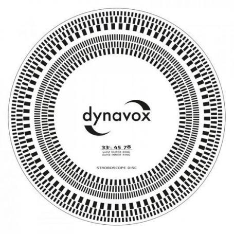 Audio Dynavox Pick-up afregel sjabloon