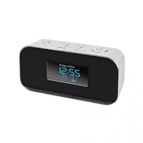 Kruger&Matz KM1150 FM Klok Radio met USB en Bluetooth