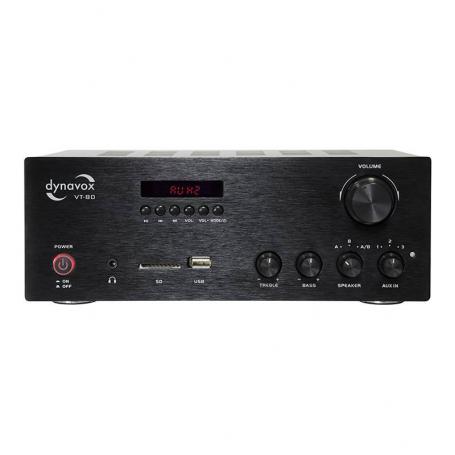 Audio Dynavox Dynavox stereo versterker VT-80 BT