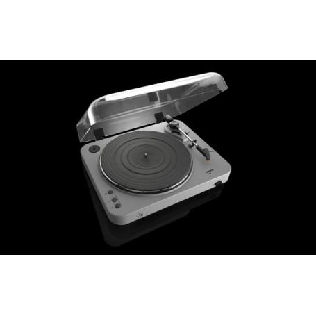 LENCO L-85 mat grijs - Platenspeler met USB