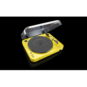LENCO L-85 geel - Platenspeler met USB