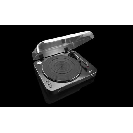 LENCO L-85 zwart - Platenspeler met USB