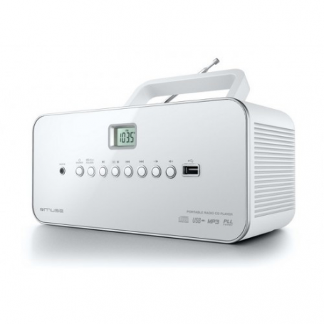 Muse M-28 RDW Draagbare Radio/CD/MP3 speler
