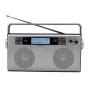 Soundmaster DAB650SI draagbare radio DAB/FM op accu